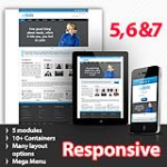 Afrodite Blue Skin Flexible Responsive Skin *4 Modules* Mobile Skin Tablet Skin
